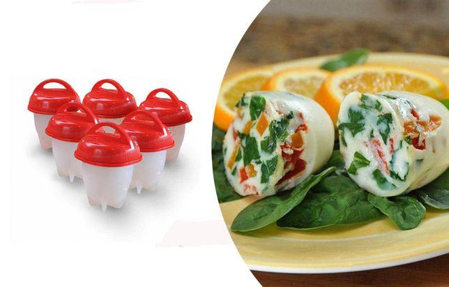 Силиконовые формочки Eggies Boil для варки яиц без скорлупы набор из 6