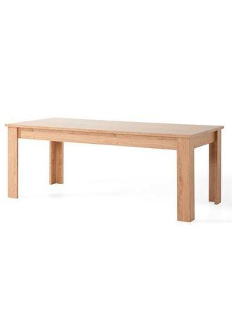 Stół w kolorze dąb sonoma, 160x80 duży stół do jadalni