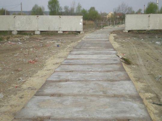 Производим укладку площадок и дорог, монтаж и демонтаж сооружений