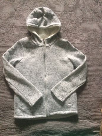 Нова мяка тепла куртка кофта для дівчинки 10-11 років