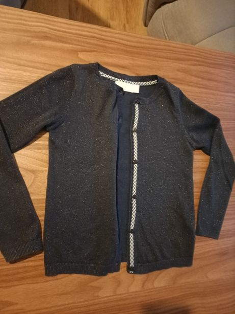 Sweterek rozpinany 122 cm