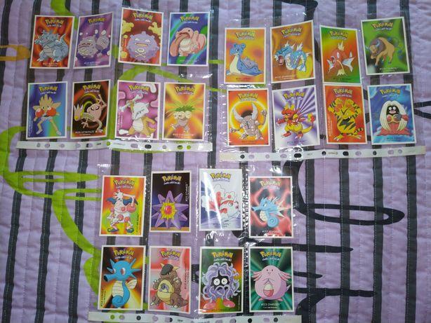Conjunto de 24 cartas Pokémon da Dunkin Boomer