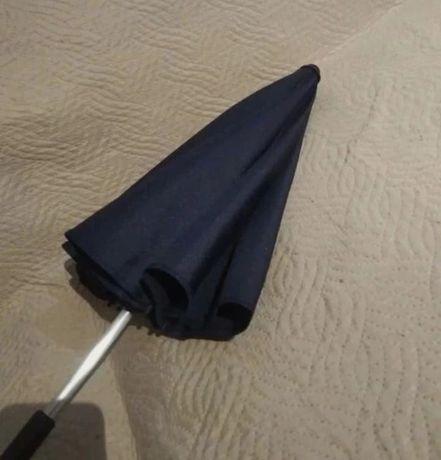 Granatowa lub niebieska Now parasolka do wózka dziecięcego uniwersalna
