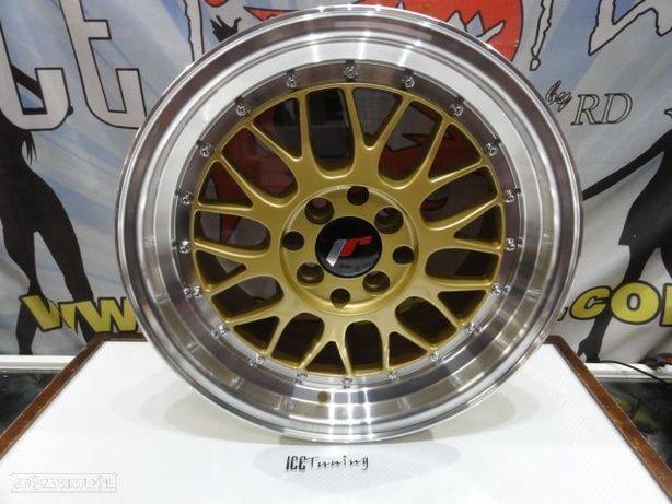 ULTIMA UNIDADE Jante Original Japan Racing JR23 16x8 ET35 4x100 / 114.3 Dourado c/aba polida