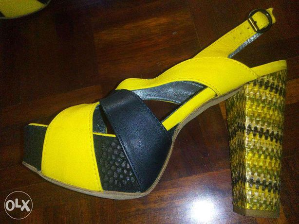Sandálias da designer portuguesa de calçado Ana Amorim