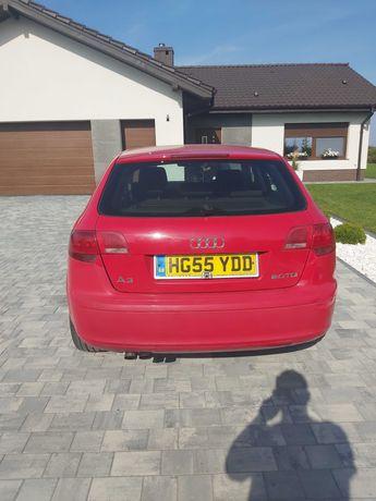 Audi a3 8p sportback zderzak tył
