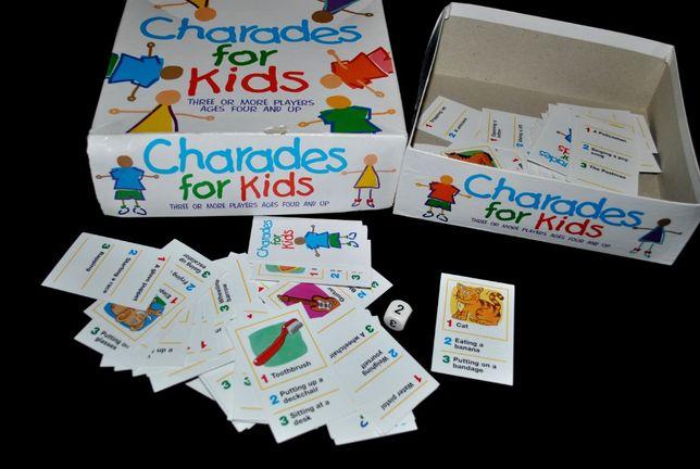 Игра шарады для детей 4+ и взрослых «Угадайка!» английский язык