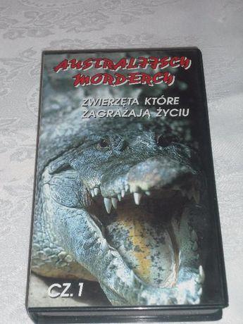 Film przyrodniczy Australijscy mordercy, kaseta VHS
