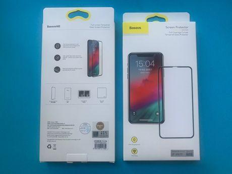 Apple iPhone 12 / 12 mini / 12 Pro BASEUS защитные стекла 2шт комплект