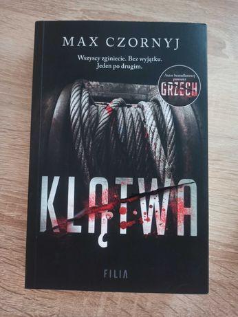 """Książka """"Klątwa"""" Max Czornyj"""