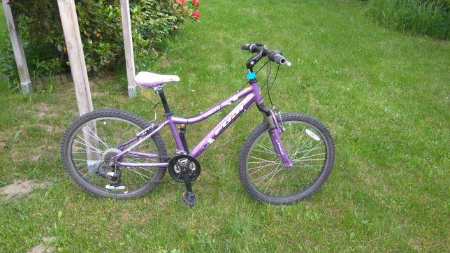 Rower kolor fiolet raczej dla dziewczynki