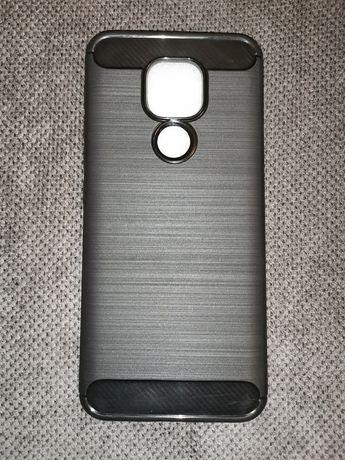 Etui silikonowe do telefonu Motorola Moto E7 Plus lub G9 Play czarne