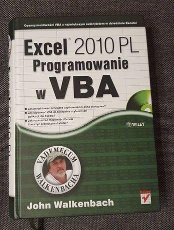 Książka Excel 2010, Programowanie w VBA John Walkenbach