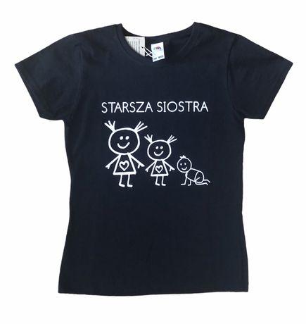 Koszulka z nadrukiem - starsza siostra