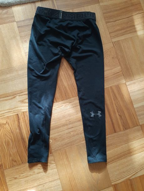 Legginsy meskie getry treningowe kompresyjne coldgear under armour l