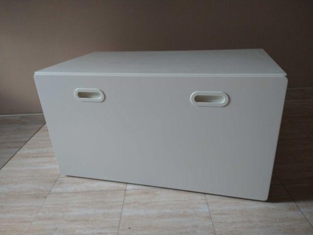 Szafka komoda na zabawki Ikea STUVA ławka biała