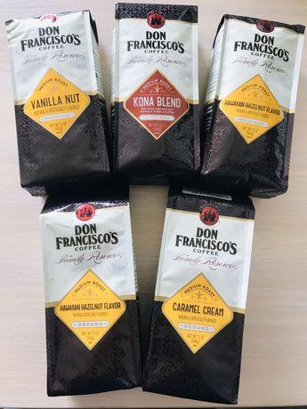 Кава зернова мелена Don Francisco USA кофе зерно молотый Starbucks