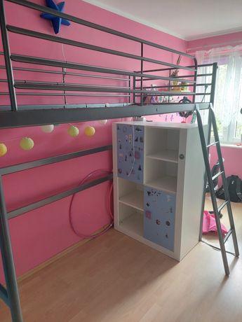 Łóżko na antresoli z Ikea