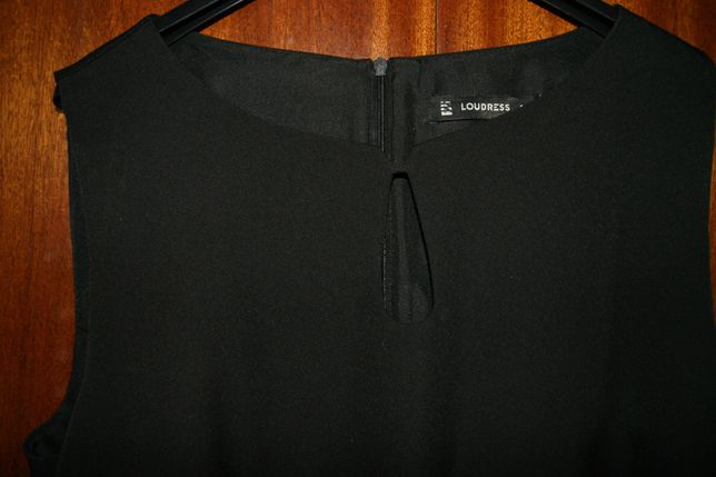 Czarna sukienka r. 48