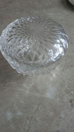 Bomboniera cukiernica kryształowa