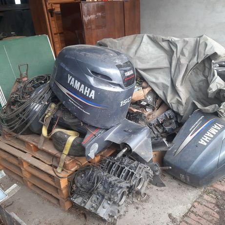 Yamaha 150 Km silnik zaburtowy 3szt. 2002r model 02 68HA1   dwusòw