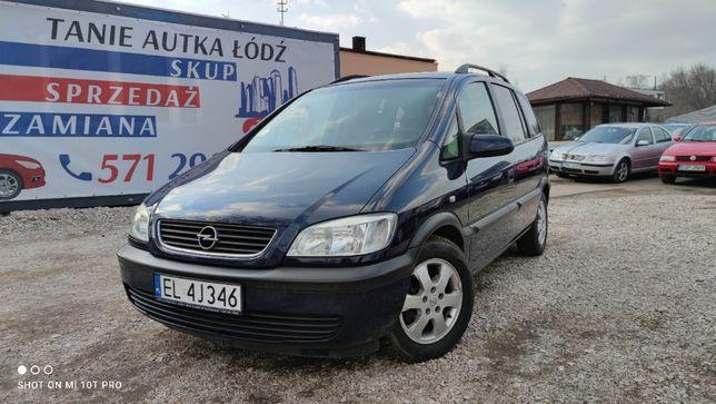 Opel Zafira 1.6 benzyna//7 osobowy//Zadbany//ZAMIANA/SKUP//GWARANCJA