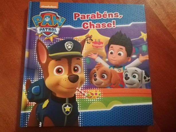Livro Parabéns Chase!