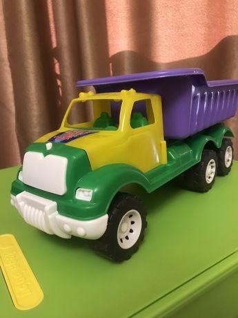 ОЧЕНЬ БОЛЬШОЙ грузовик самосвал грузовая машина машинка вантажівка