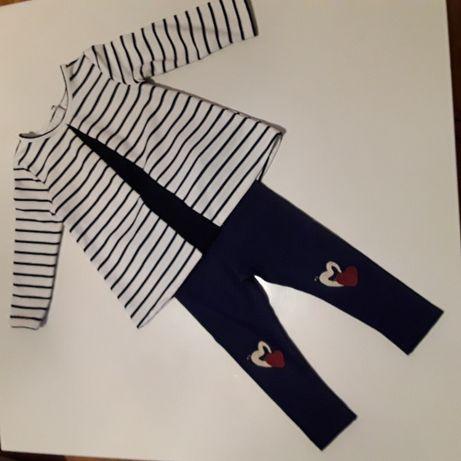 Zestaw tunika + legginsy