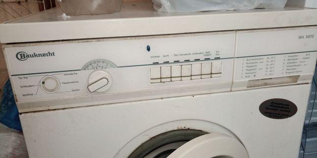 Bauknecht wa9870 стиральная машина б/у автомат на запчасти
