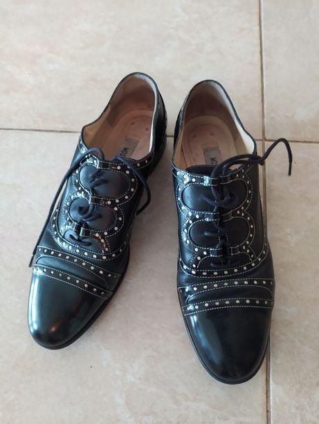 Броги туфли обувь стиляги moschino 38