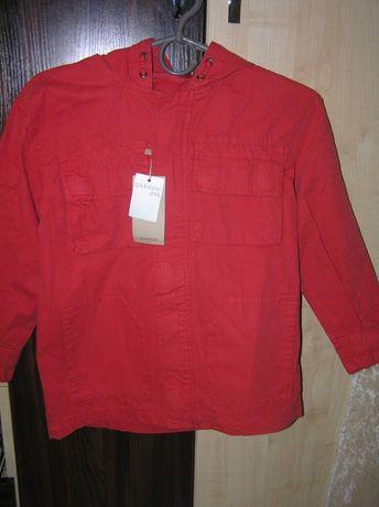 Куртка Mango для мальчика ветровка джинсовая для близнецов
