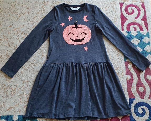 Sukienka H&M 134/140 nowa bez metki. Halloween
