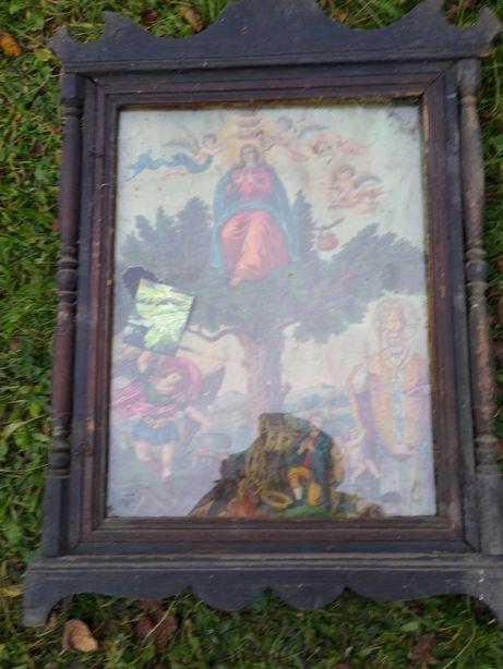Sprzedam Obraz matki boskiej na remont dachu