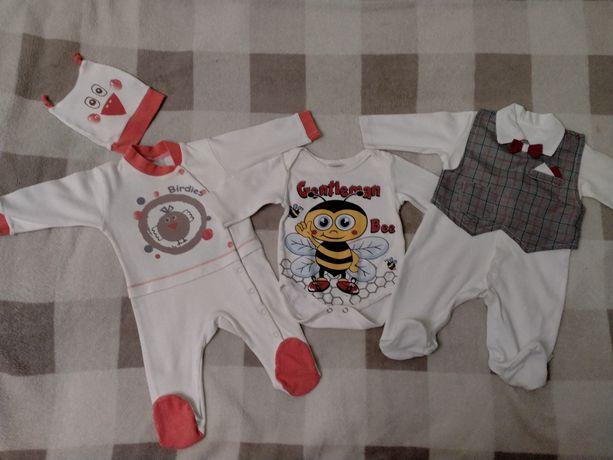 Набор человечков 62 размер... Одежда для новорожденных