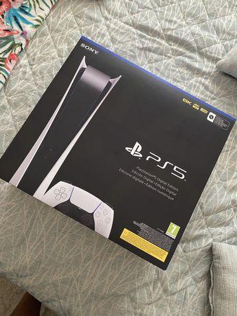 Playstation 5 digital selada com garantia e fatura fnac