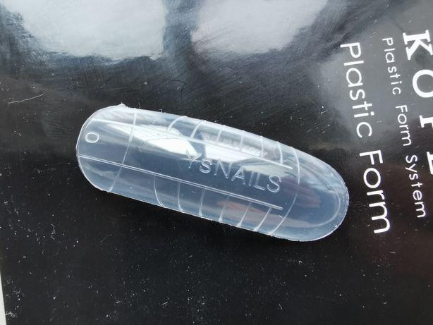 Formy do paznokci plastikowe szablony