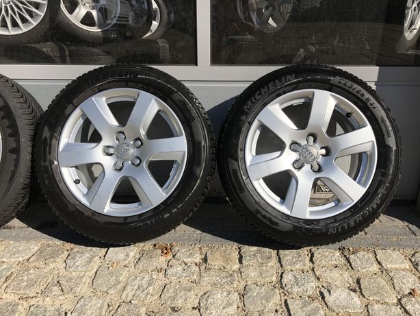 """ Alufelgi 5x112 AUDI A6 A5 A4 A3 A7 A8 + opony Pirelli 225/55r17"