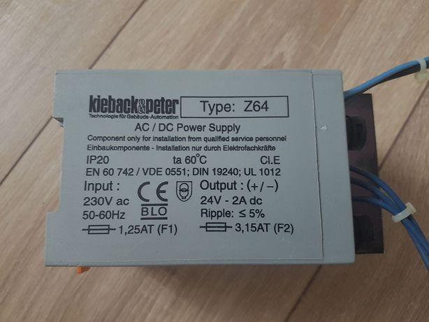 Transformator Kieback&Peter Typ Z64 230/24V