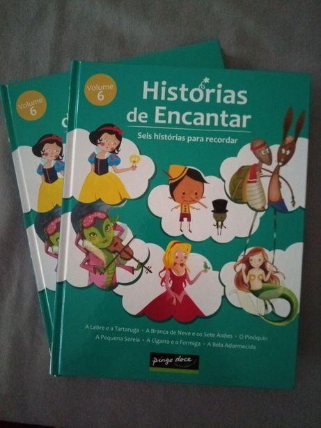 """Livro Pingo Doce """"Histórias de Encantar"""""""