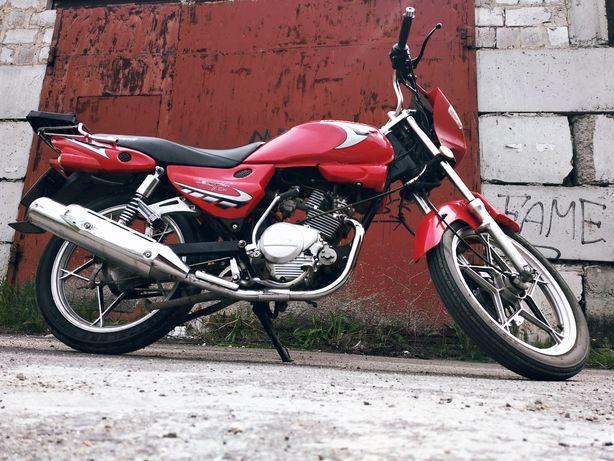 Продам мотоцикл Jianshe Knight 125-4XF2 2007г