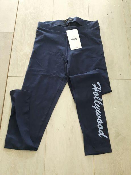 Nowe legginsy Bawełna Cropp z metkami