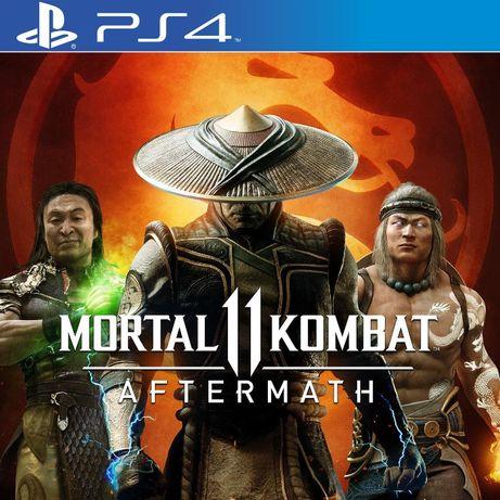 Mortal Kombat 11 Ultimate Игры PS4/PS5 Injustice 2, TEKKEN 7 Aftermath