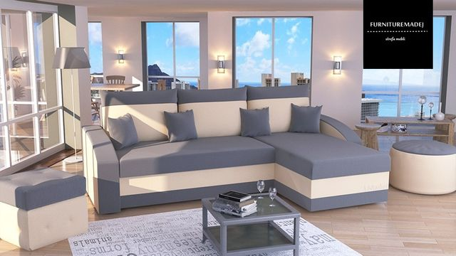 narożnik, rogówka, sofa, kanapa rozkładana, łóżko ARCZI