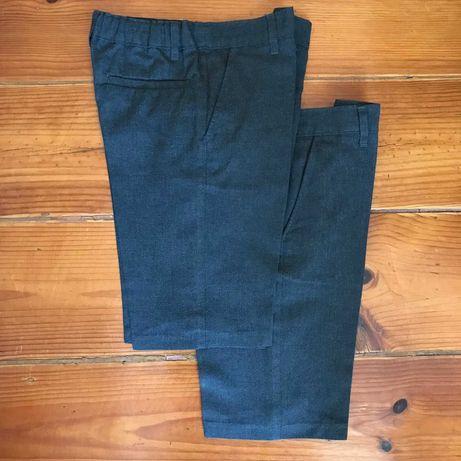 2 calções uniforme / uniform shorts Marks & Spencer 7-8 (128 cm)