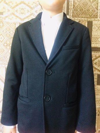 Пиджак, классика, чёрный, на мальчика, школа, школьная форма
