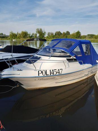 Łódź Motorowa Kabinowa motorówka Fischer Cruiser 525