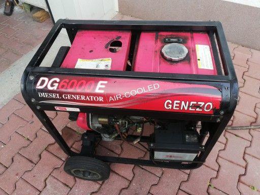 Agregat Genezo DG6000E Air-Cooled