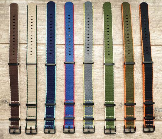 20-22 мм Ремешок для часов Нейлоновый. Ремень в часы Nylon 1000D