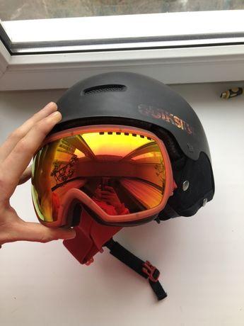 Шлем quiksilver + маска anon